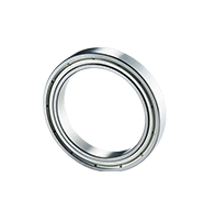 Flanged Shielded Extra Thin Metric Ball Bearings